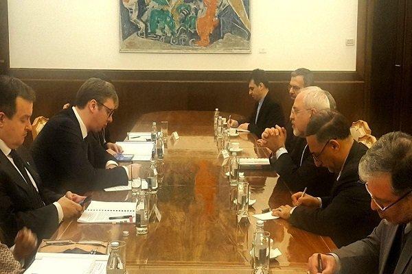 الرئيس الصربي يعلن استعداد بلاده لتعزيز العلاقات مع إيران