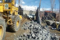 تخریب ۳۴ مورد تغییرکاربری در مهرشهر کرج/ ۳۵ هکتار آزاد شد