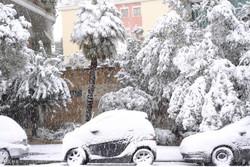 بارش برف سنگین در اروپا
