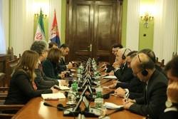 Zarif, Serbian parl. speaker call for closer bilateral ties
