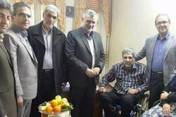 وزیر جهاد کشاورزی با جانباز دماوندی دیدار کرد