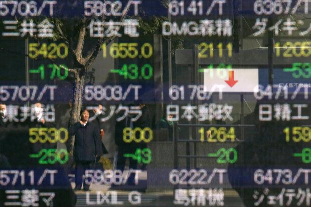 شاخصهای سهام دچار نوسان شد/ین ژاپن رشد کرد