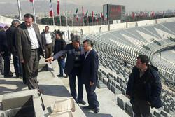 بازدید داورزنی از روند آمادهسازی ورزشگاه آزادی برای دربی