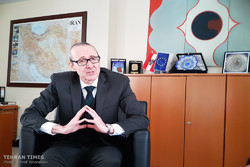 Stefan Scholz,Vienna's ambassador to Tehran