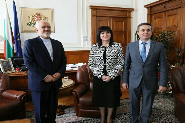 Zarif, Bulgarian Speaker hail historical ties of Iran, Bulgaria