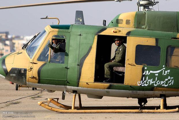 مراسم رونمایی از  دستاوردهای جدید ارتش