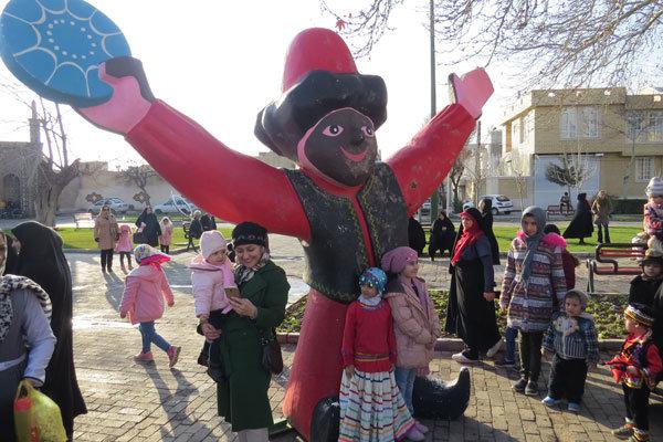 جشنواره عمو نوروز برای اولین بار در قزوین برگزار شد