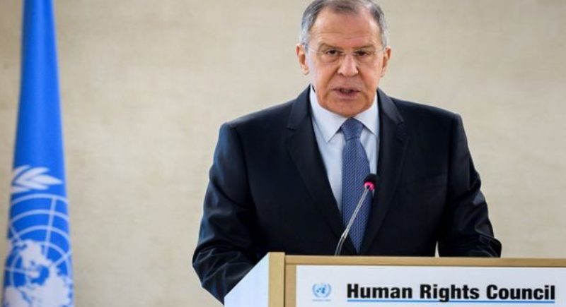 Lavrov says Syria has eliminated chemical weapons, rejects claims