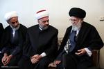 دیدار وزیر اوقاف سوریه و هیأت همراه با رهبر انقلاب
