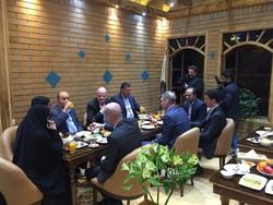 ورود اینفانتینو به تهران