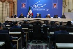 روحاني: الأمن والوحدة هما البنية التحتية الرئيسية للتطور