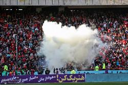 دیدار تیم های فوتبال استقلال و پرسپولیس - دربی 86