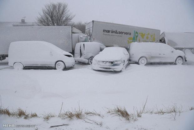 یورپ میں شدید سردی کی لہر سے ہلاکتوں کی تعداد 46 تک پہنچ گئی