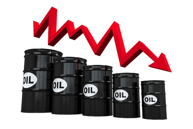 هبوط أسعار النفط الخام عالمياً