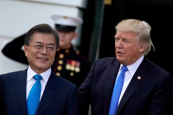 Seoul not to comment on Trump's words