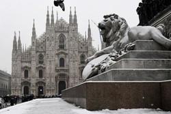 برف و بوران در اروپا