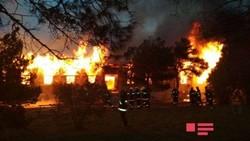 مقتل 24 شخصا بحريق في باكو عاصمة أذربيجان