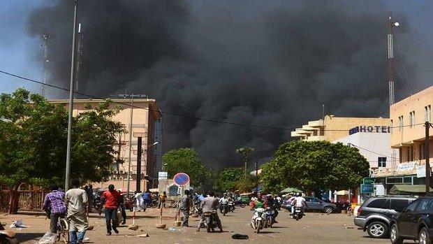 ارتفاع حصيلة الهجوم على السفارة الفرنسية في بوركينا فاسو إلى 28 قتيلا