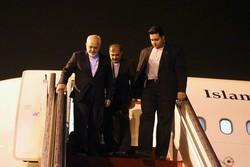 Zarif wraps up 4-nation East Europe tour, returns home
