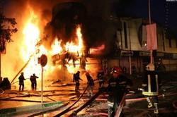 آتش سوزی در سنت پانکراس هتل لندن