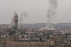 إصابة 22 مدنياً فى اعتداءات لداعش على أطراف مخيم اليرموك فى دمشق