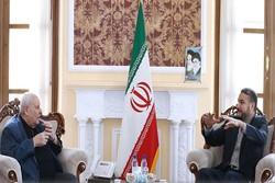 Palestine's ambassador to Tehran meets with Amir-Abdollahian