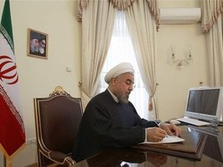 Rouhani offers condolence to Azeri president