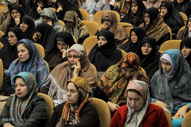 """منتدى """"سيدة الشمس"""" في محافظة كلستان شمالي ايران"""