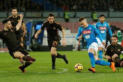 شکست باور نکردنی ناپولی در خانه/ رم با ۴ گل سن پائولو را فتح کرد