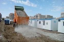 کانکس زلزله زدگان کرمانشاه