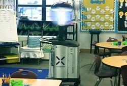 ربات مخصوص میکروبها را در مدارس نابود می کند