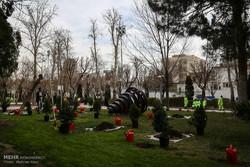 مراسم هفته درختکاری با حضور هنرمندان