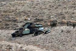 بالگرد ارتش افغانستان در ولایت بلخ سقوط کرد/ ۷ سرنشین کشته شدند