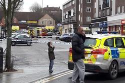 انفجار در شرق لندن