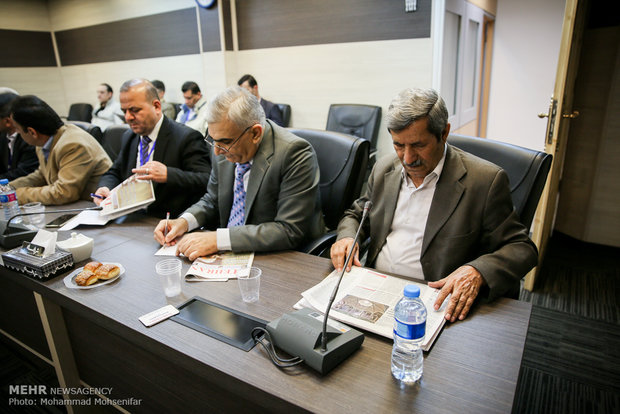 Syrian journalists visit Mehr News Agency, Tehran Times HQs