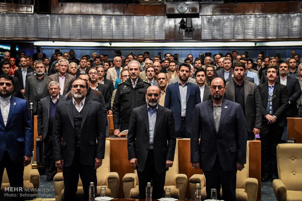 مراسم افتتاح رسمی شبکه تلویزیونی ایران کالا