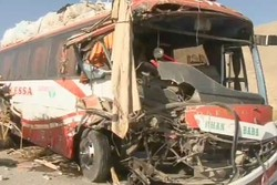 ترکی میں غیر ملکی تارکین وطن کی بس حادثے کا شکار/ 17 افراد ہلاک
