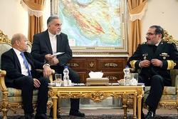 Fransa Dışişleri Bakanı, Şemhani ile görüştü