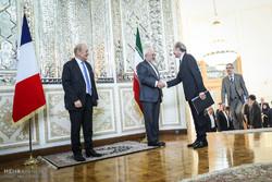 دیدار وزرای خارجه ایران و فرانسه