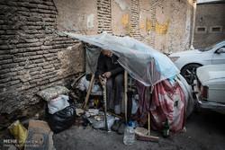 حال و روز کارتن خوابها در شیراز