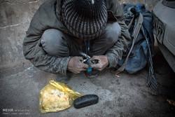 مرگ دو معتاد کارتن خواب در پارک استقلال تهرانسر