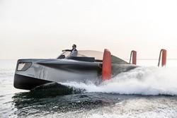 قایق لوکس با موتور الکتریکی بنزینی ساخته شد