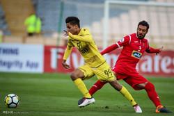 دیدار تیم های فوتبال پرسپولیس و الوصل امارات