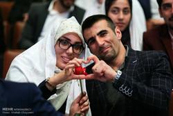 حفل الزواج الطلابي بجامعة طهران / صور