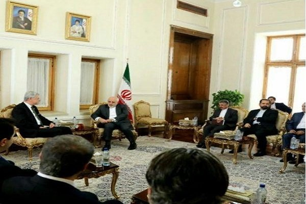 FM Zarif receives Turkish senior MP
