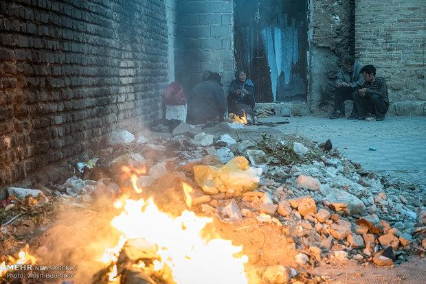 کارتن خواب های شمال تهران جمع آوری شدند