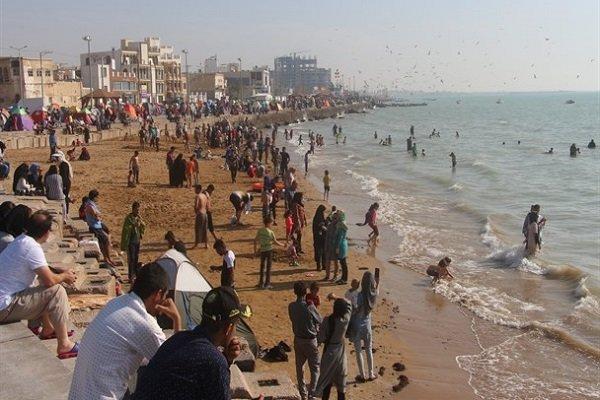 مناطق ساحلی استان بوشهر میزبان بیشترین تعداد گردشگران نوروزی است