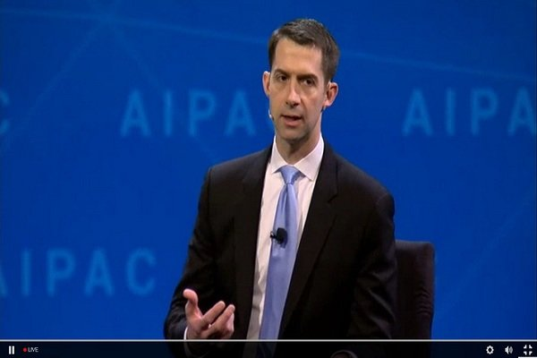 AIPAC's $ 4.5 million support for young Tom Cotton