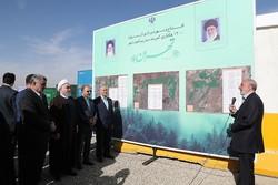 """Tahran çevresindeki dev """"Yeşil Kemer"""" projesi başlatıldı"""