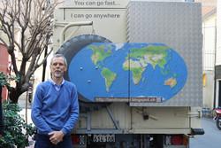 Swiss roamer roams the world in his 'Land Roamer'